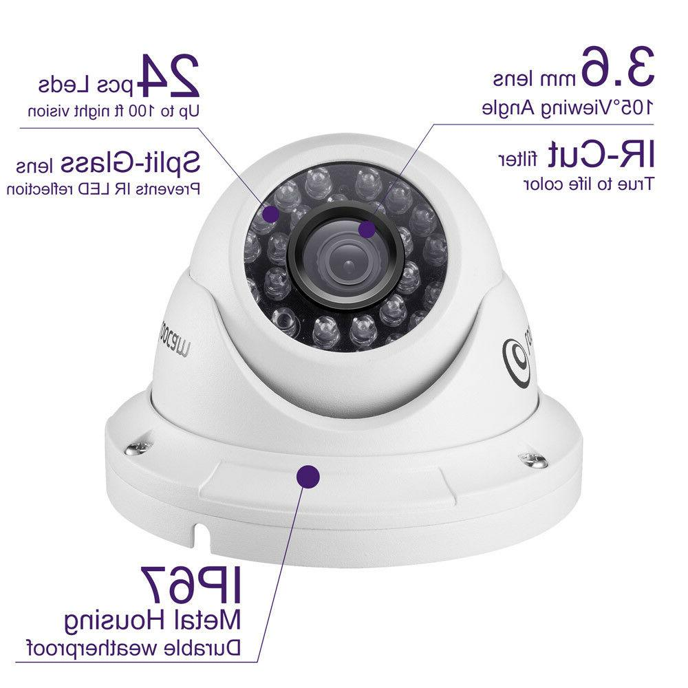 Loocam HD TVI 2.0MP Security Night