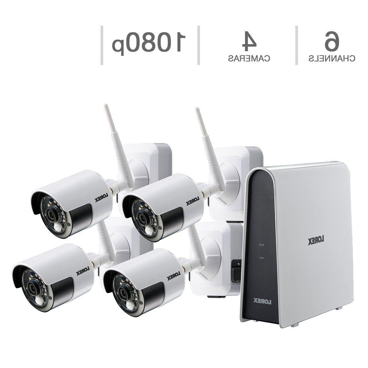 hd 1080p wire free security camera system