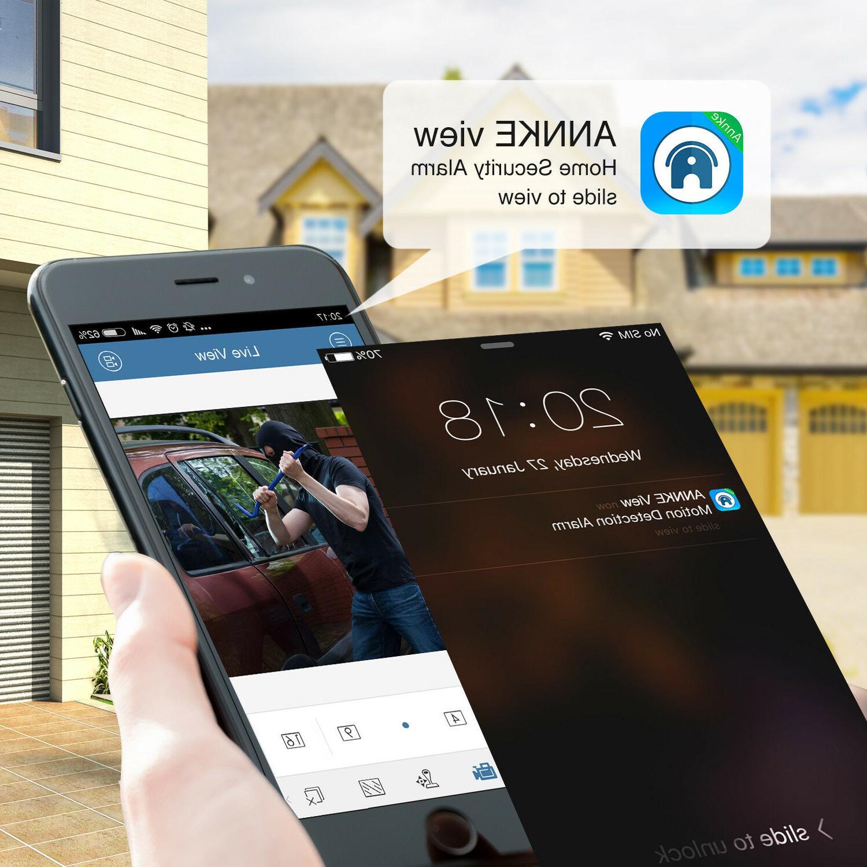 ANNKE 5in1 DVR Dome 1080P CCTV System 0-