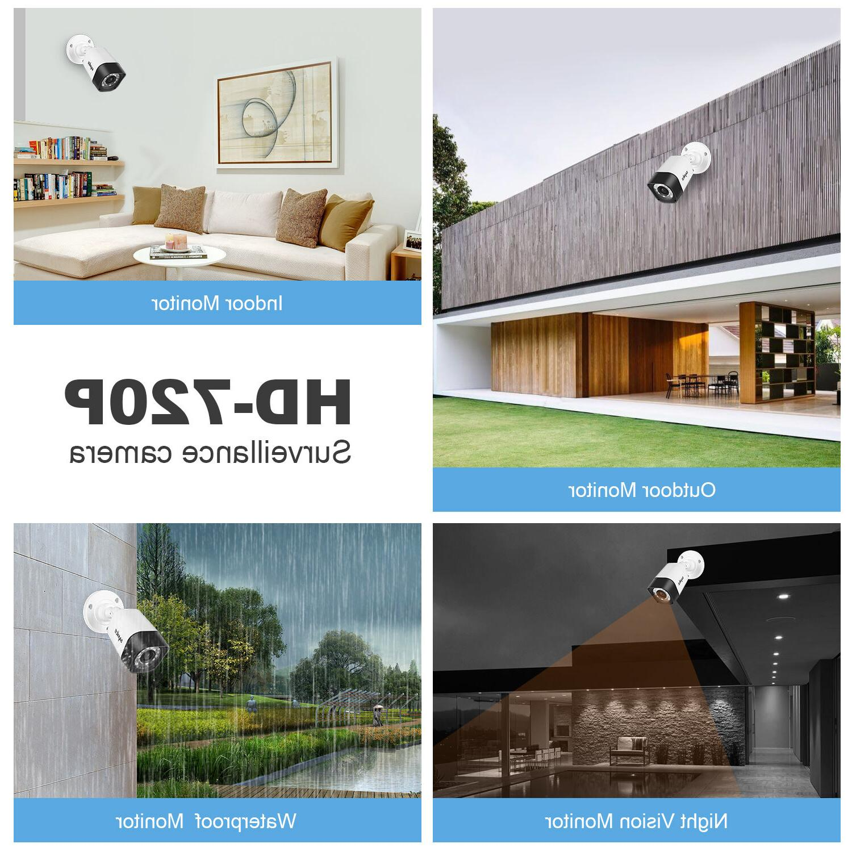 SANNCE 1500TVL CCTV IR Vision for Home Camera