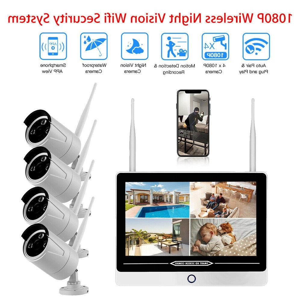 HD 4pcs 2MP Indoor/Outdoor Free