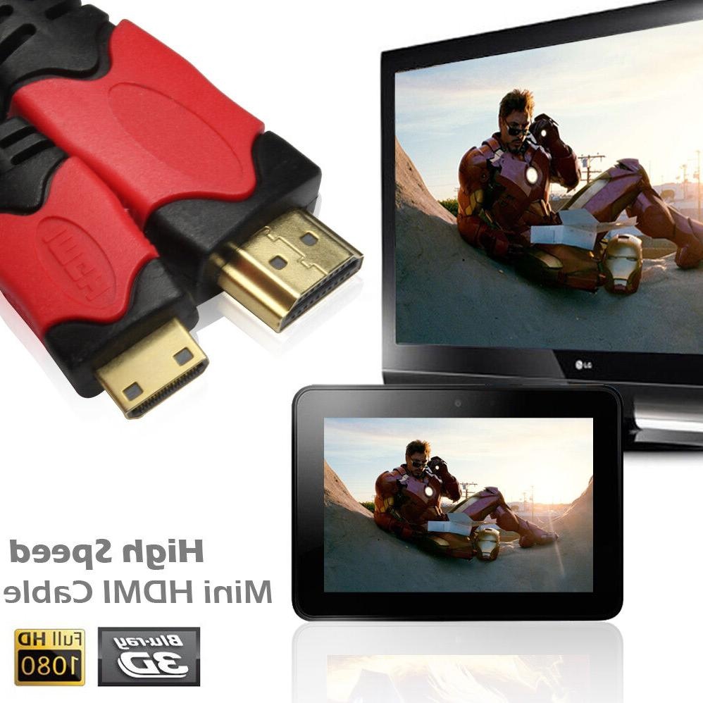 High-Speed to Mini Cord Adapter HD HDTV
