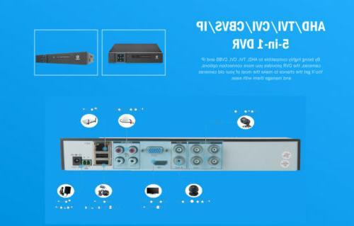 HODELY 1080N DVR HD Camera CCTV Security System