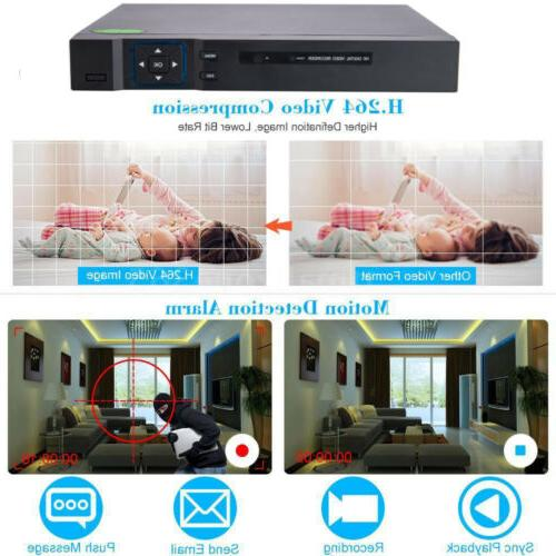 HODELY 1080N DVR 720P HD System