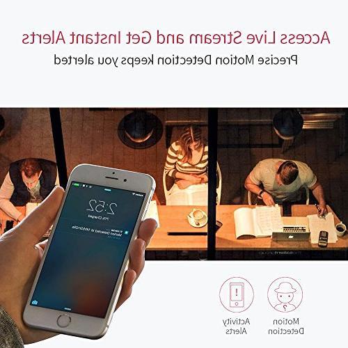 YI 1080p Wi-Fi IP Surveillance Vision, iOS, App - Cloud Available