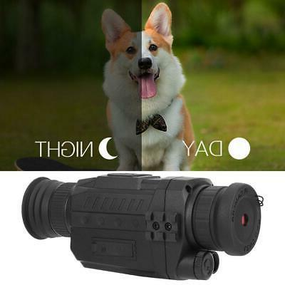 Outdoor Day&Night Continuous Photograph Video Infrared Super