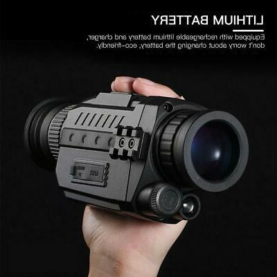 Infrared HD Camera Night Vision Scope Photo Video Recording