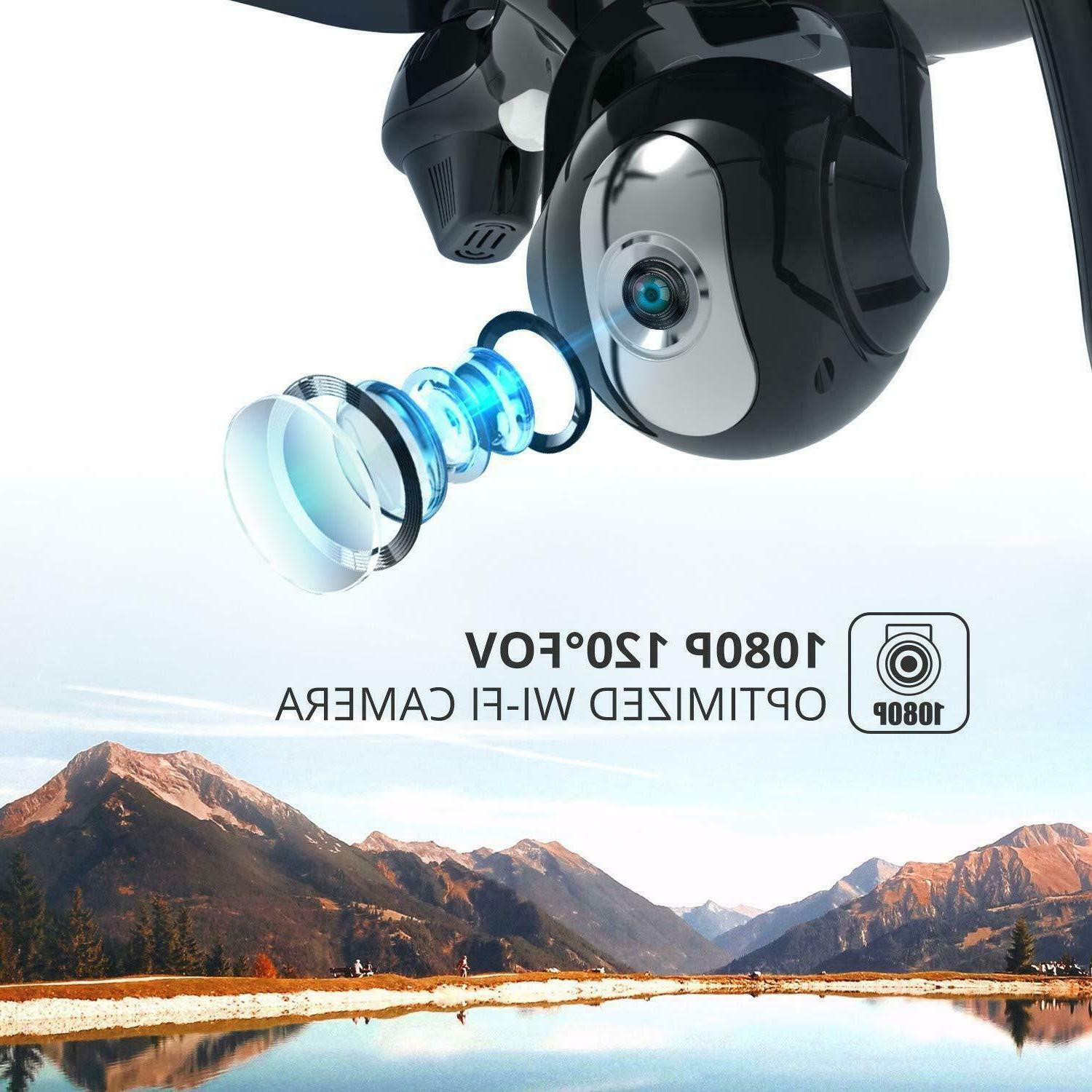 Holy Stone HS100 WiFi RC Drone 1080P HD Camera 2.4G