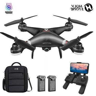 hs100 drone quadcopter wifi wide angle camera