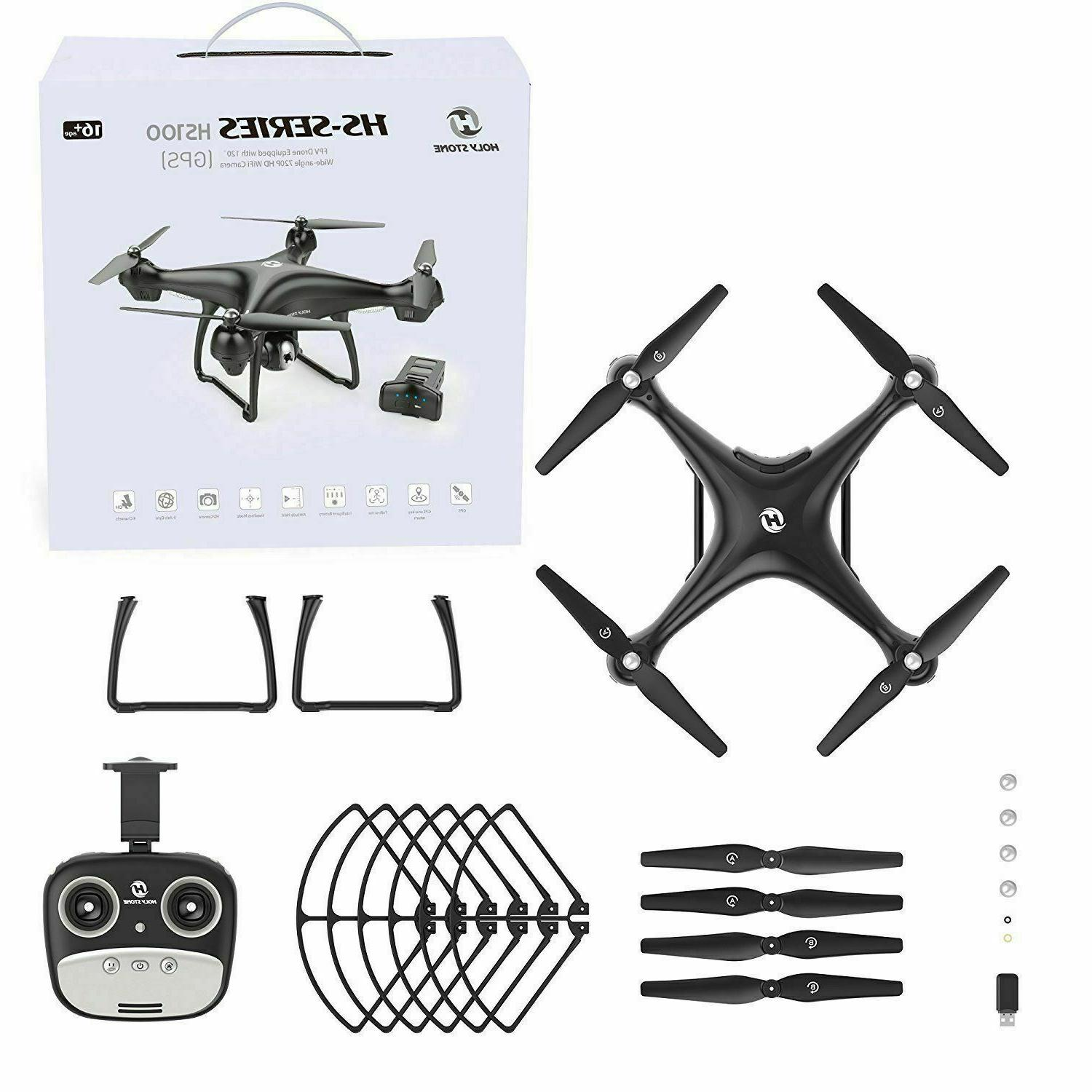 Holy Stone GPS Drone With HD Camera WiFi 2.4G RTF Quadcopter