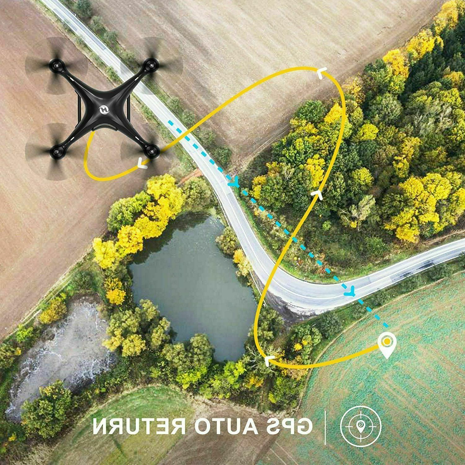 Holy Stone HS100 GPS Drone With HD RTF