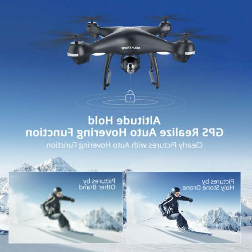 Holy Stone Drone 2K HD Camera Large Quadcopter Return Home FPV