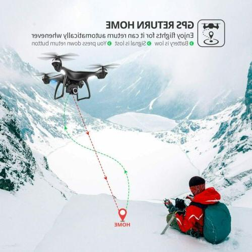 Holy Stone HS100 RC Drone with Camera Large Quadcopter GPS Return