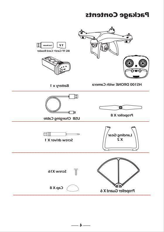 Holy Stone GPS Drone 1080P HD Camera 2.4G FPV Quadcopter