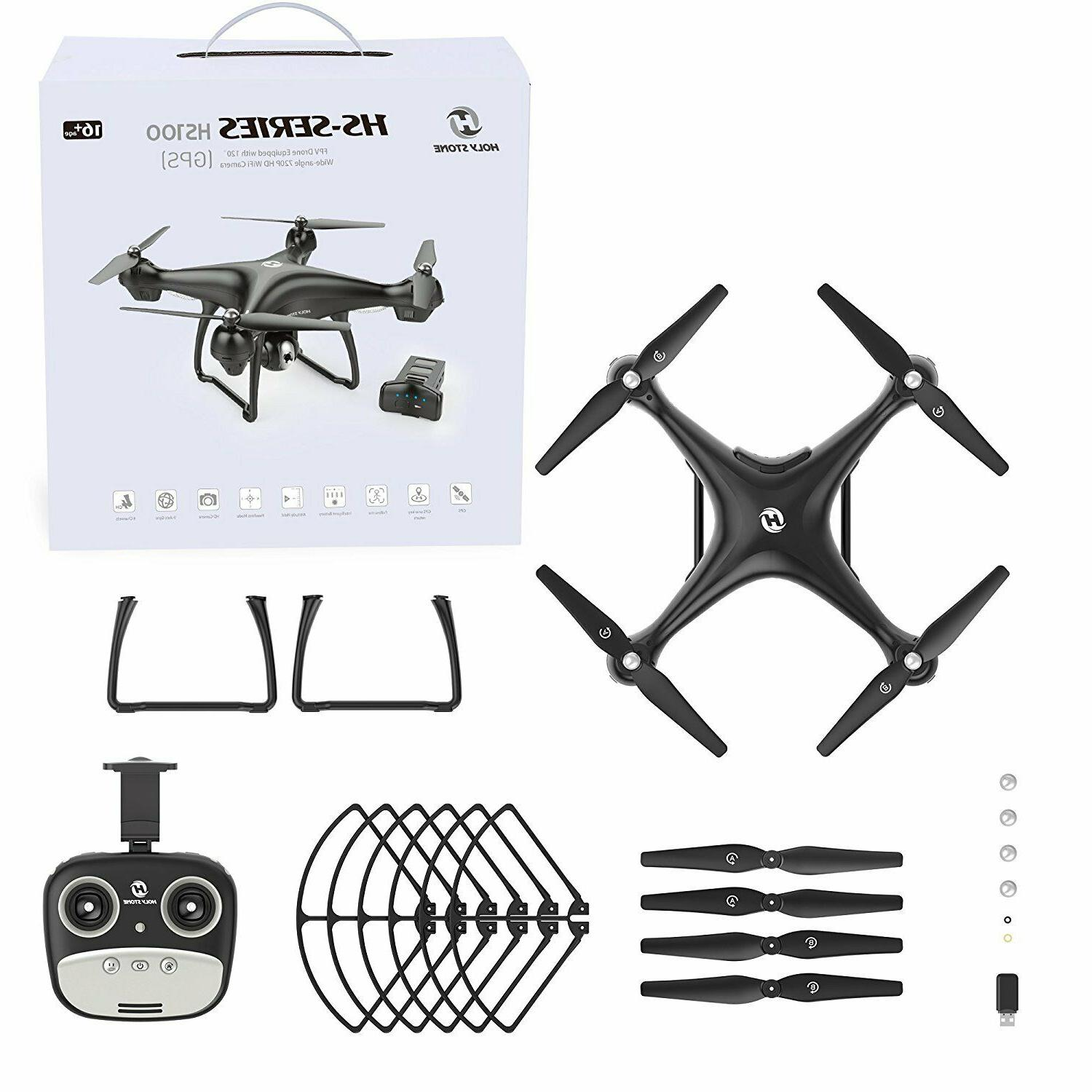 Holy Stone WIFI GPS Drone With HD Camera 2.4G FPV Quadcopter