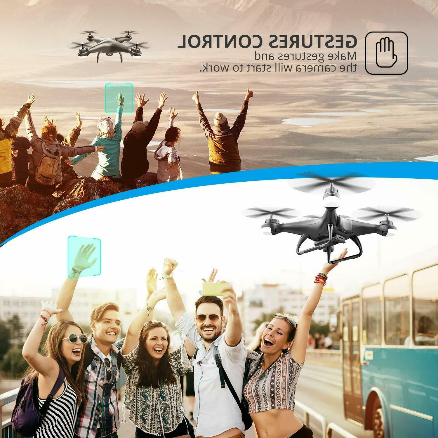 Holy RC Drone with 1080P HD Video 120° W