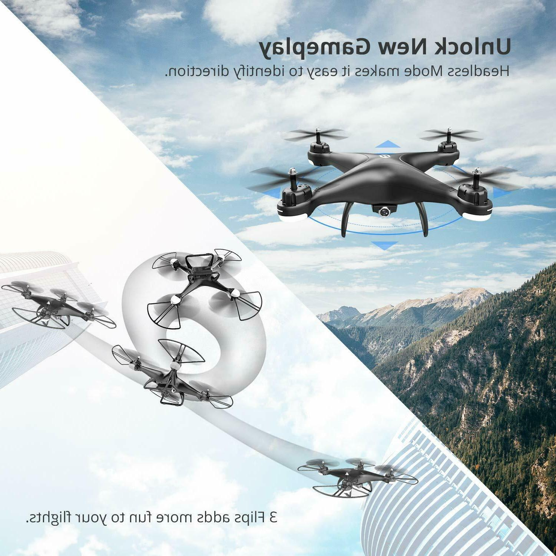Holy Stone RC Drone 1080P HD Camera Live 120° Wide-Angle