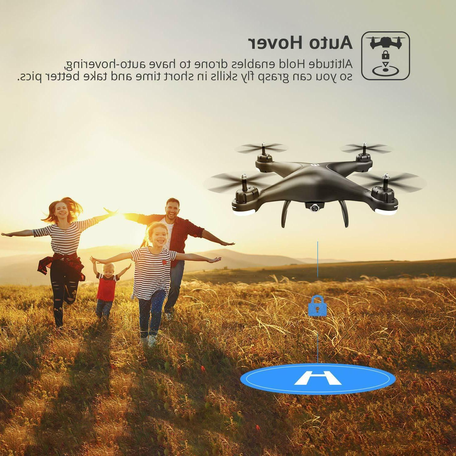 Holy Stone HS110D RC Drone HD Camera Live 120° W