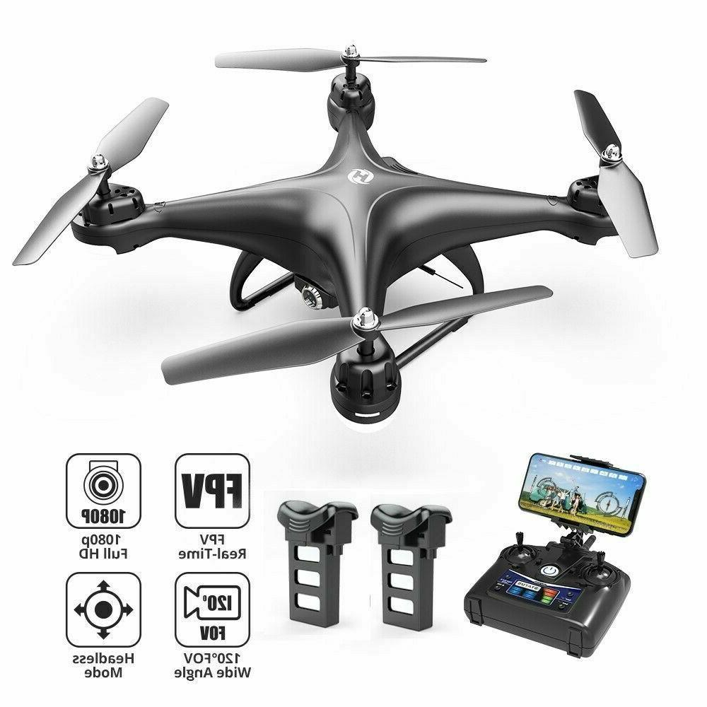 hs110d fpv rc drones with 1080p wifi