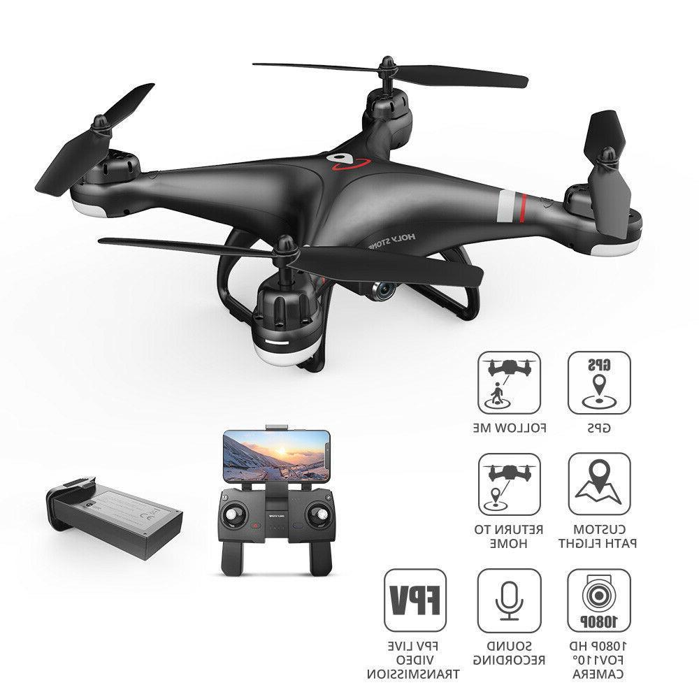 Holy Stone FPV Drone 1080P Camera Quadcopter Follow Me