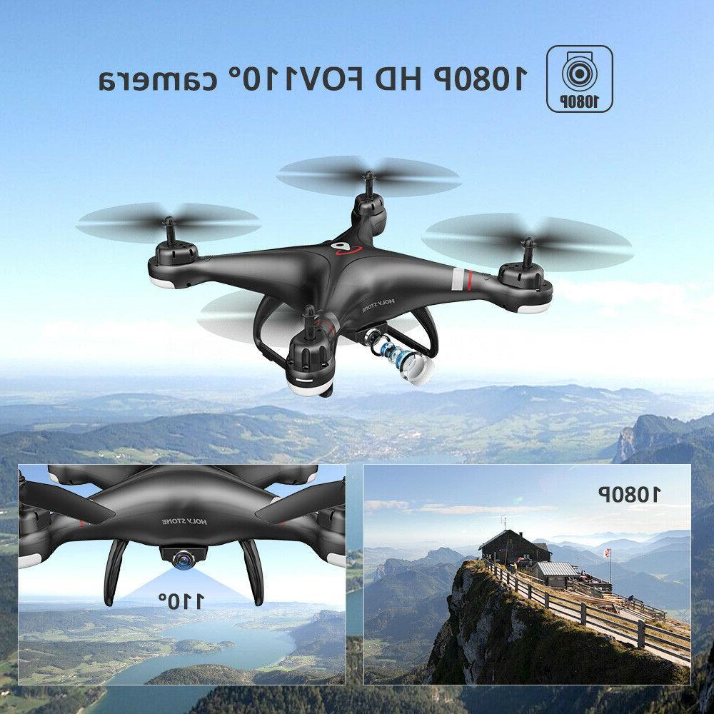 Holy Stone FPV Drone 1080P Camera Follow