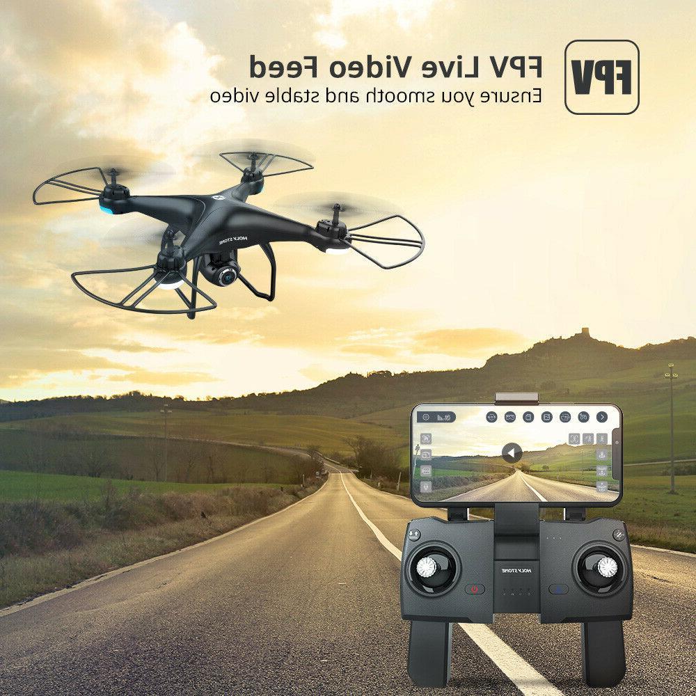 Holy HS120D camera FPV tapfly selfie