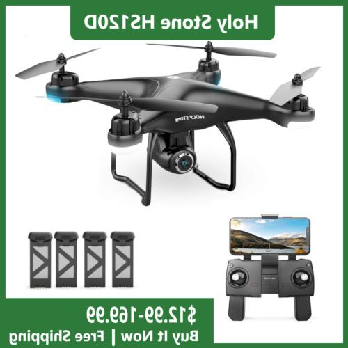 hs120d rc drone with 1080p hd camera