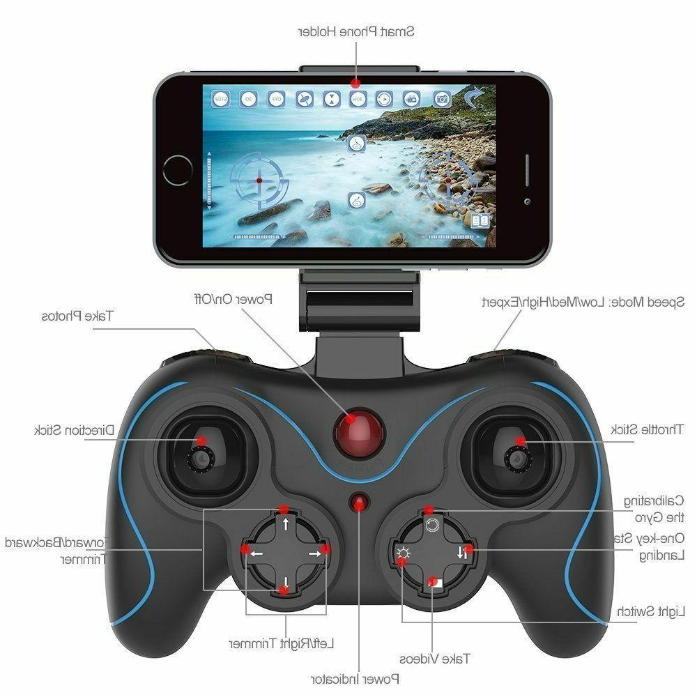Holy Stone HS160 2.4G Selfi FPV Drone 720P HD Camera Foldable RC Quadcopter