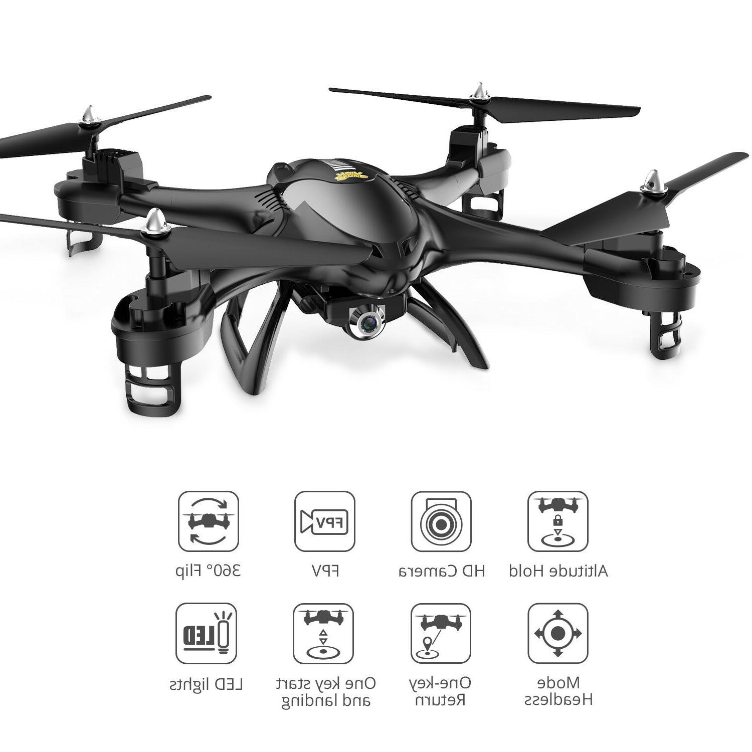 Holy Stone HS200 Selfie Drone with 720P HD RTF Quadcopter