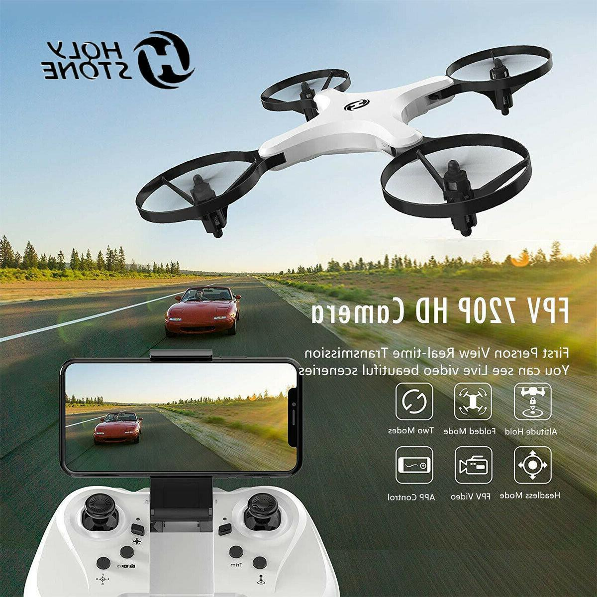 hs220 fpv wifi rc drone foldable 2