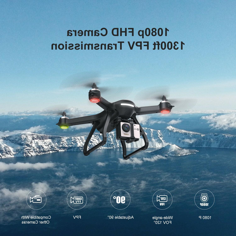 Holy Stone HS700 FPV Drone HD Camera RC