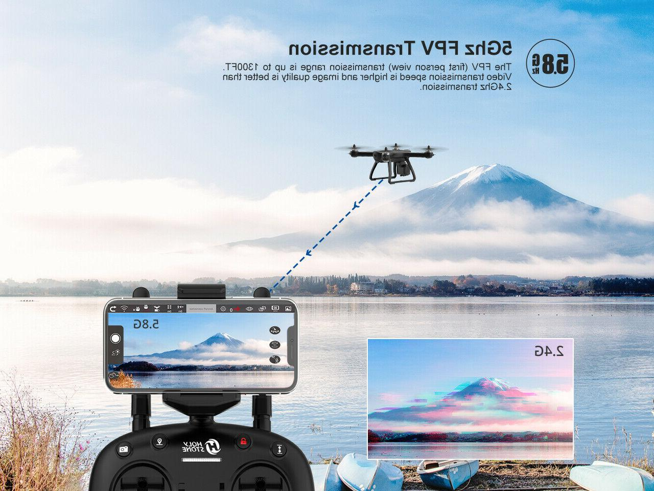 Holy Stone Drones Brushless HD Camera WiFi RC