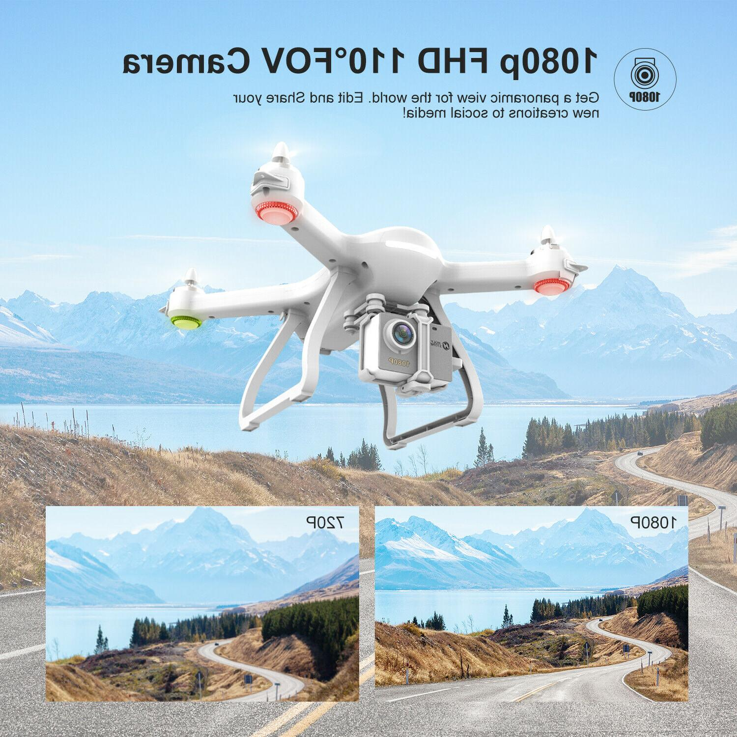 Holy Stone FPV Drone Camera wifi brushless RC