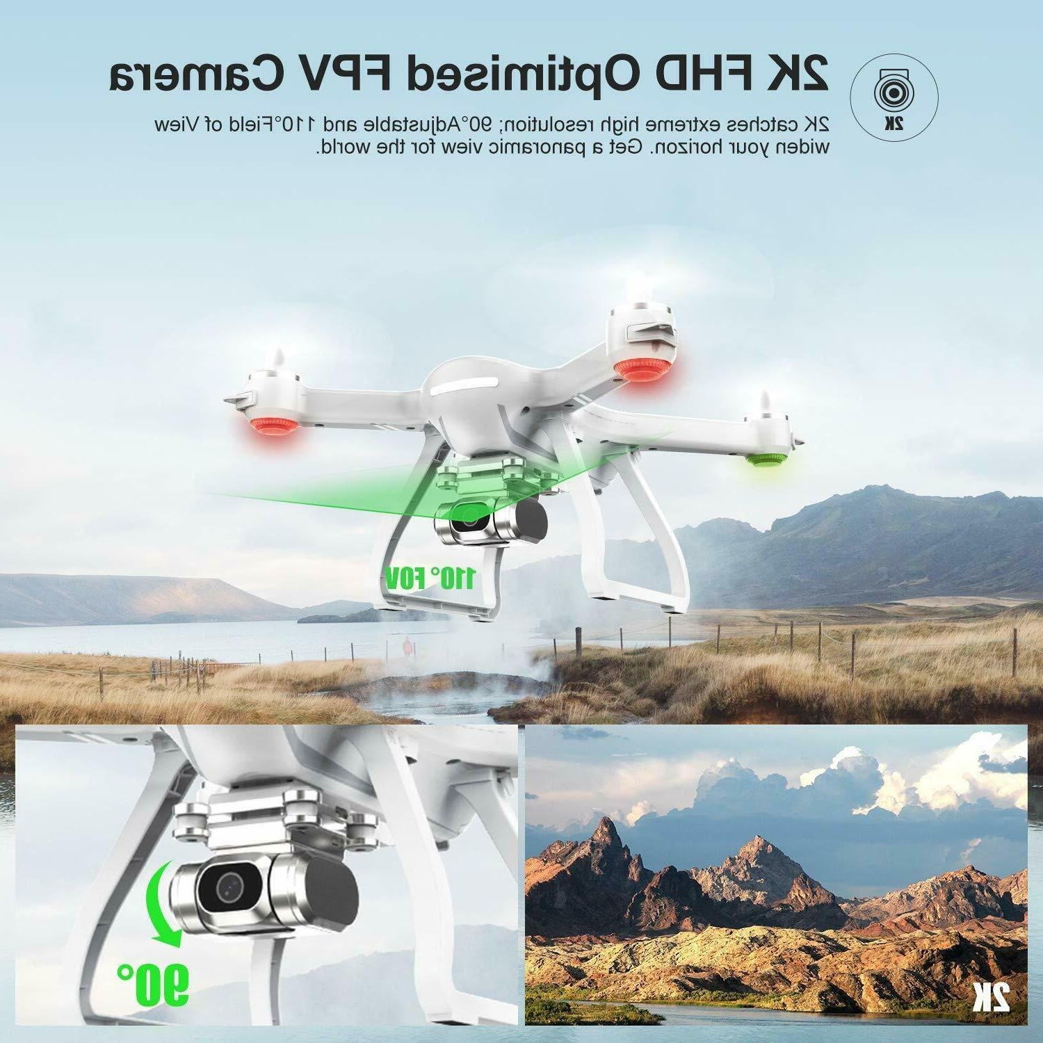 Holy Stone HS700D GPS FPV With 5G 2K Camera RC Quadcopter