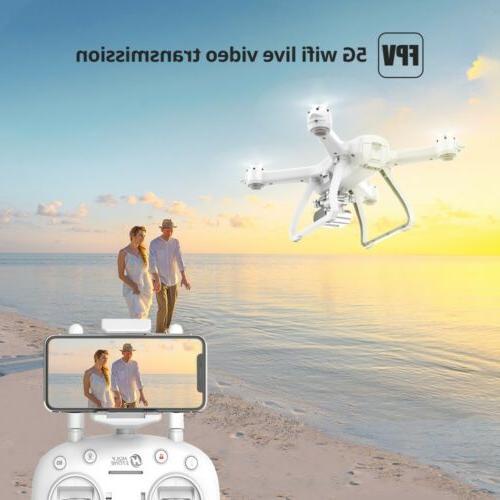 Holy Stone FPV Drone 5G 2K RC