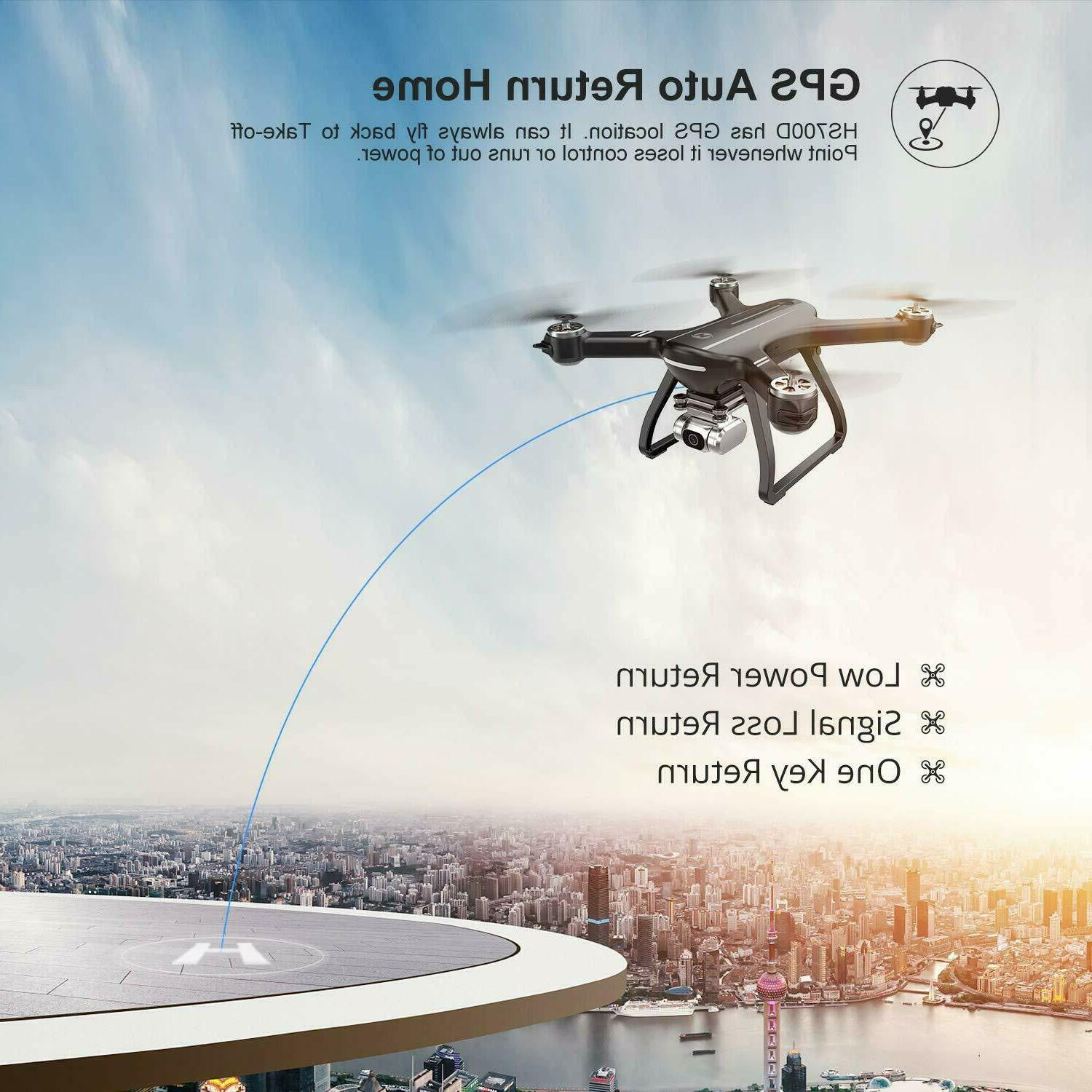 Holy Stone RC Drone With HD Camera GPS Brushless Motor