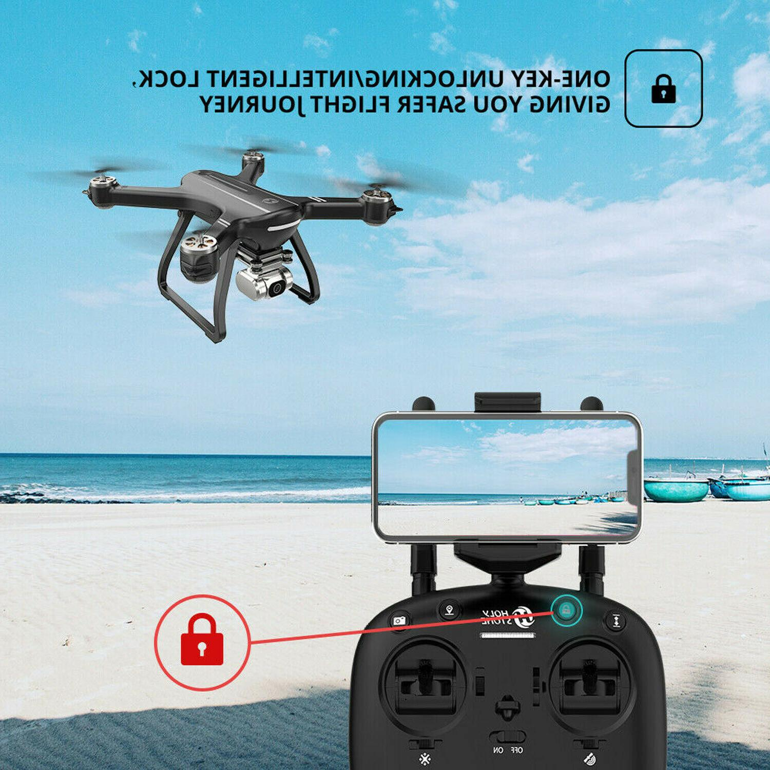 Holy Stone Drone With 4K HD Brushless Motor