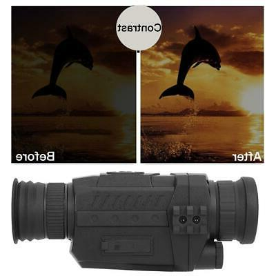 Outdoor Day&Night Video Infrared Camera Shooting