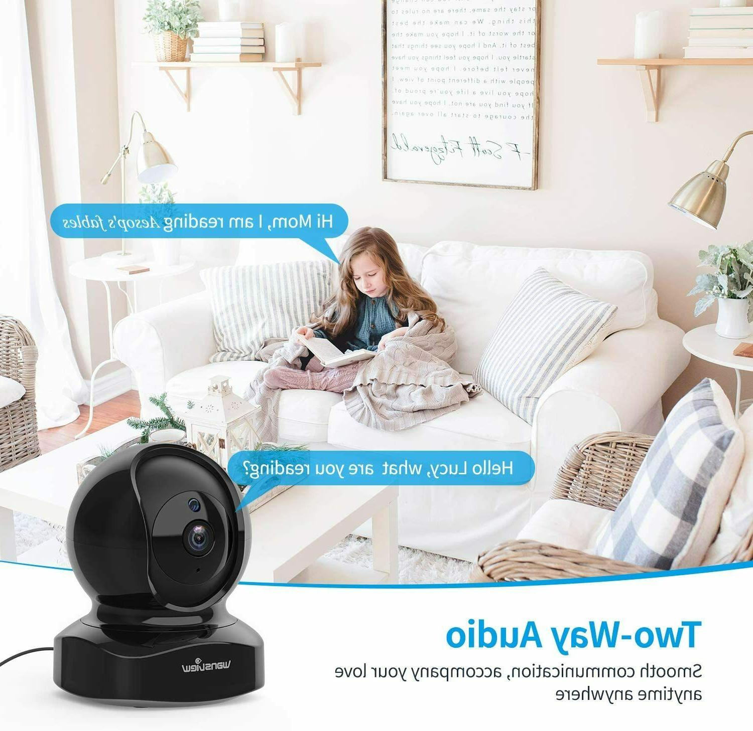 IP Dome Wireless Security 1080P HD Wansview, Home