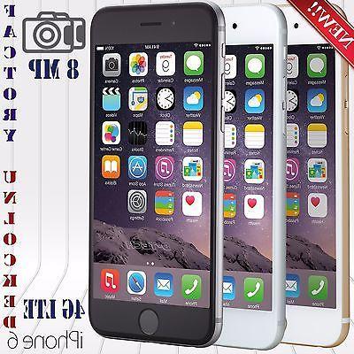 Apple Iphone 6 Plus  FACTORY UNLOCKED PHONE LTE HD US SPECKS