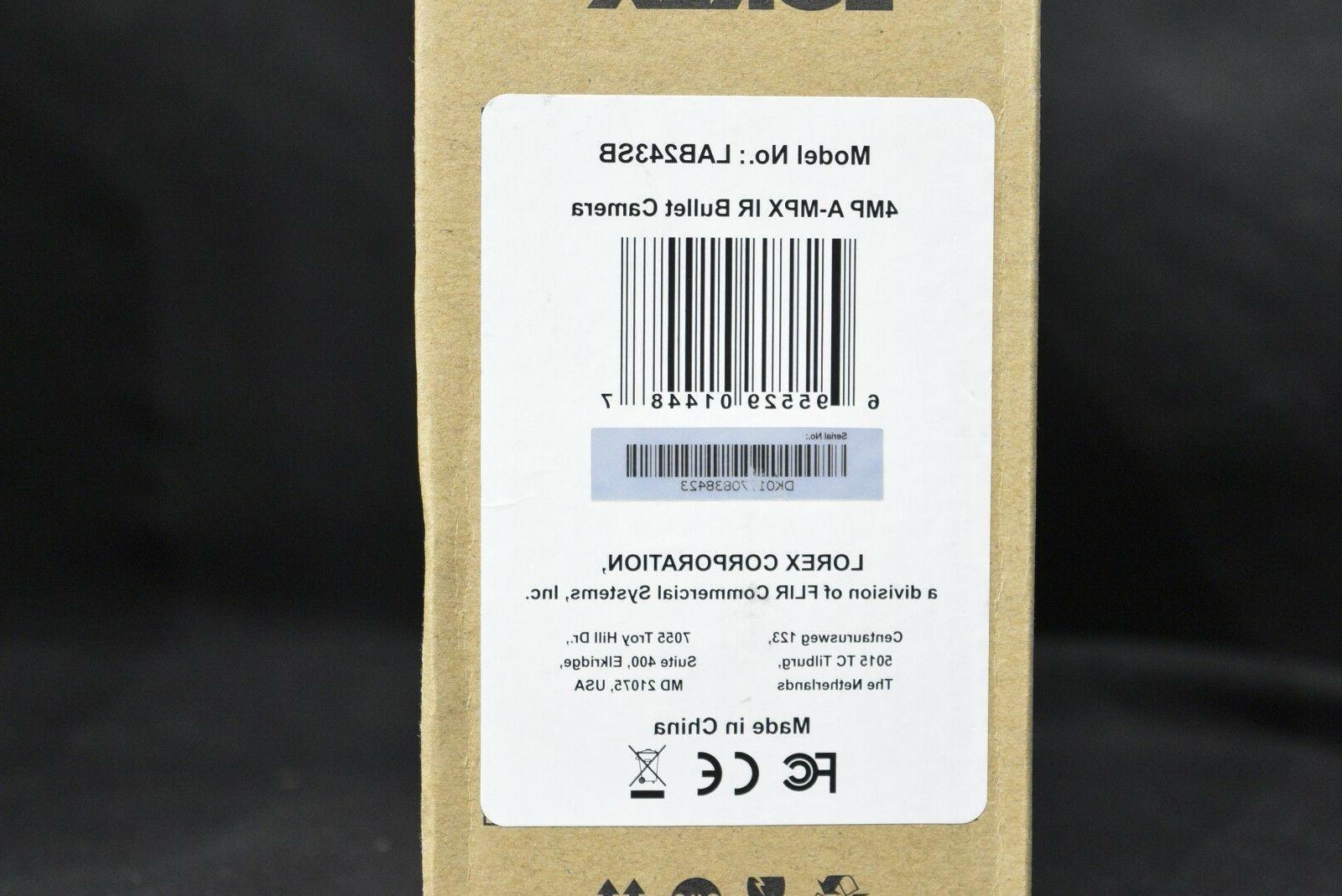 lot Lorex LAB243SB 2K HD Camera +60 Sealed