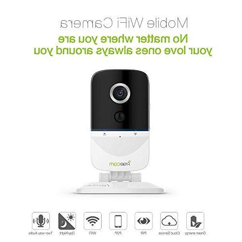 FREECAM Mini IP Battery Security 720P HD PIR Home Indoor