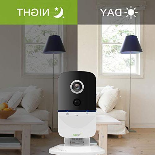 FREECAM IP Camera with Battery Surveillance 720P IR PIR Sensor Home Indoor