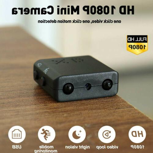 Mini 1080P Cameras Home Recorder Security Vision