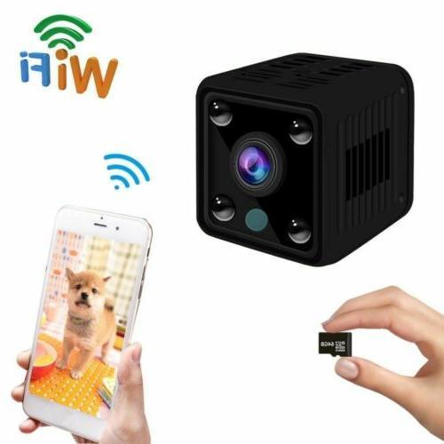Mini / DVR DV/ Sound /Night-Vision/Support 64GB Microsd Card