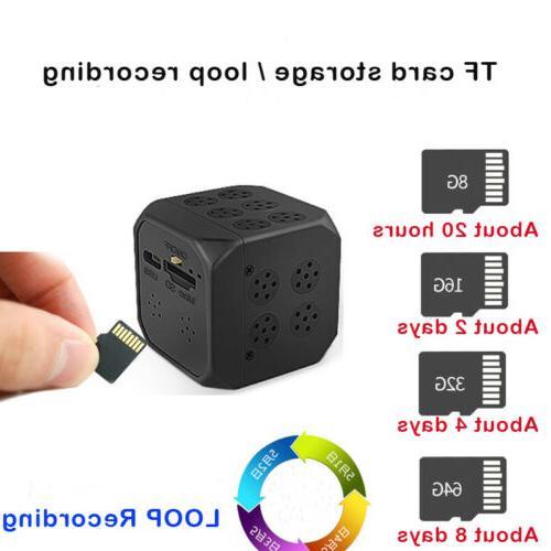 Mini DVR DV/ Sound /Night-Vision/Support 64GB Microsd Card