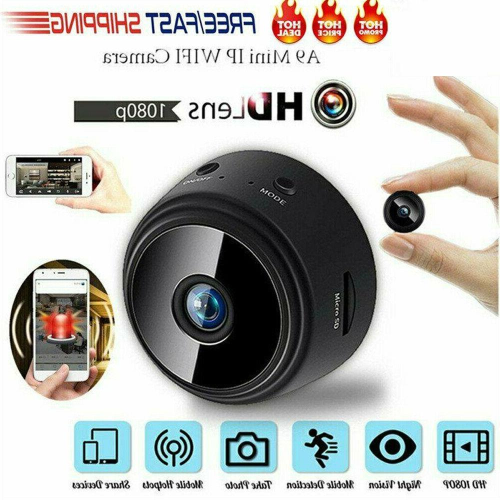Mini Hidden Spy Cameras Wireless Wifi IP Home Security HD 10