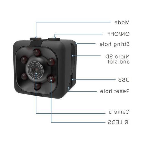 Mini HD Cam Hidden Camera Video DVR SpyCam Lot 2019