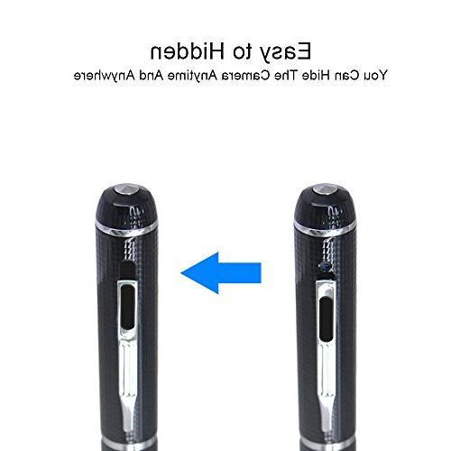 Mini Camera Video 32GB HD 1080P Portable Body Worn Pen