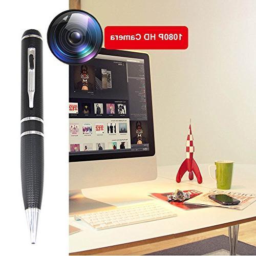 Mini Pen Video Hidden Camera 32GB HD Mini Portable Worn Video Pen